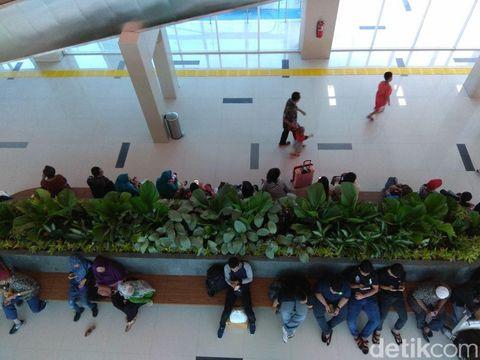 Hari terakhir uji coba kereta Bandara Soetta tarif promo Rp 30.000
