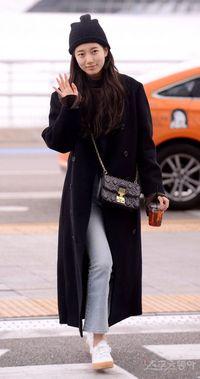 Wajah Asli Suzy Eks Miss A saat Tanpa Makeup di Bandara Incheon