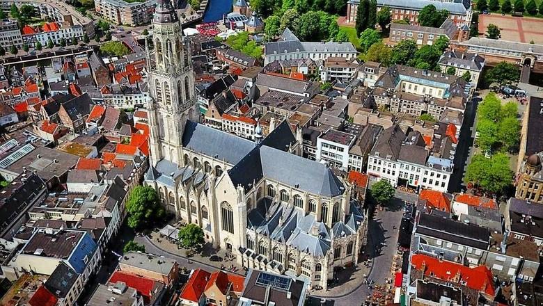 Foto:  Suasana Kota Breda di Belanda (Instagram/Breda van Boven)