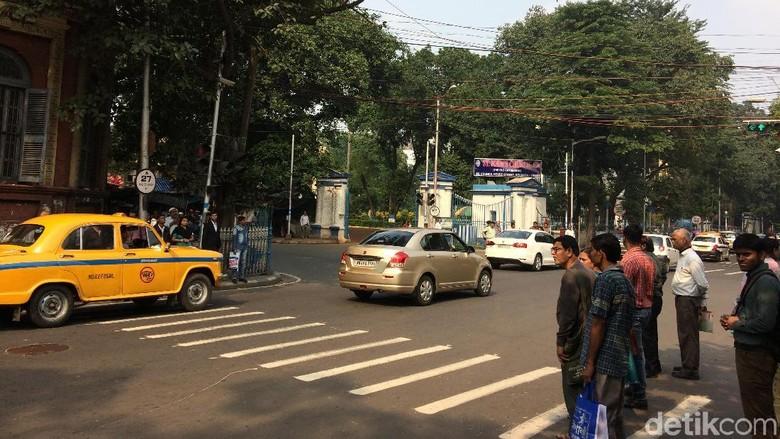 Suara Klakson Bisa Terdengar nyaring di India Foto: (Masaul/detikcom)