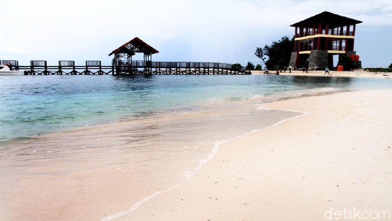 Pulau Kodingareng Keke di Makassar (Ibnu/detikTravel)
