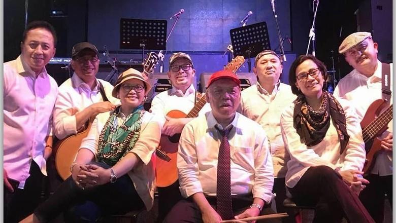 Tampil di BNI Java Jazz Festival 2018, Berapa Bayaran Band Menteri Jokowi-JK?