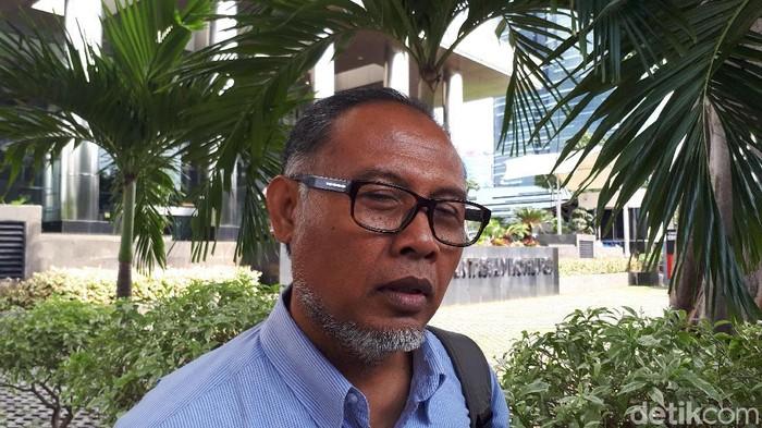 Bambang Widjojanto di KPK (Faieq-detikcom)