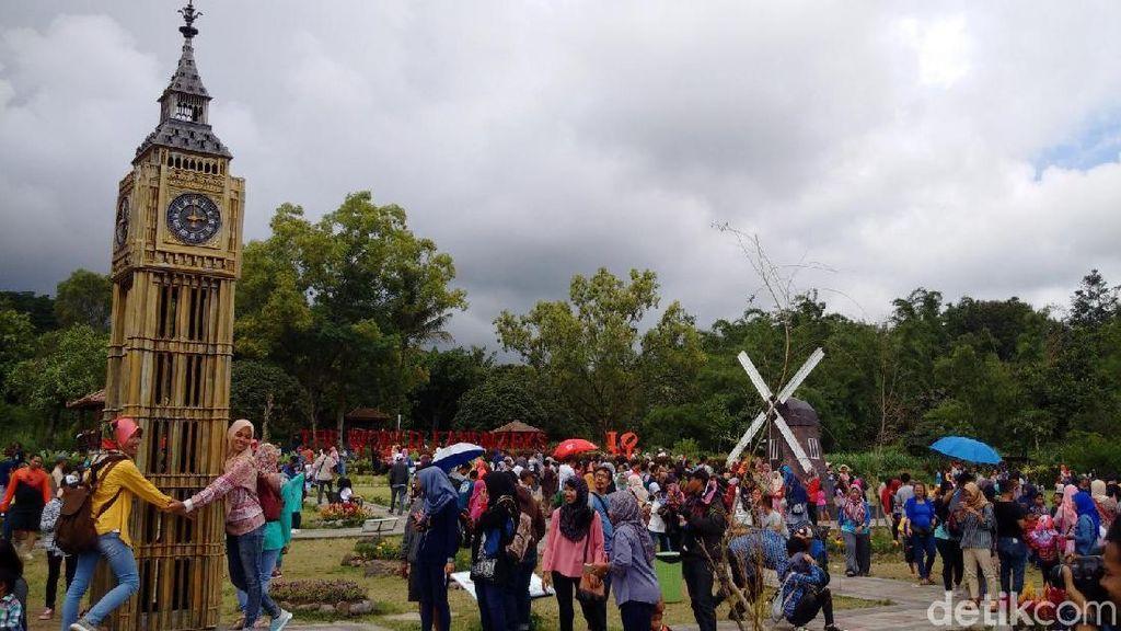 Foto: Akhir Pekan Ini, Keliling Dunia Sehari di Merapi Park Sleman