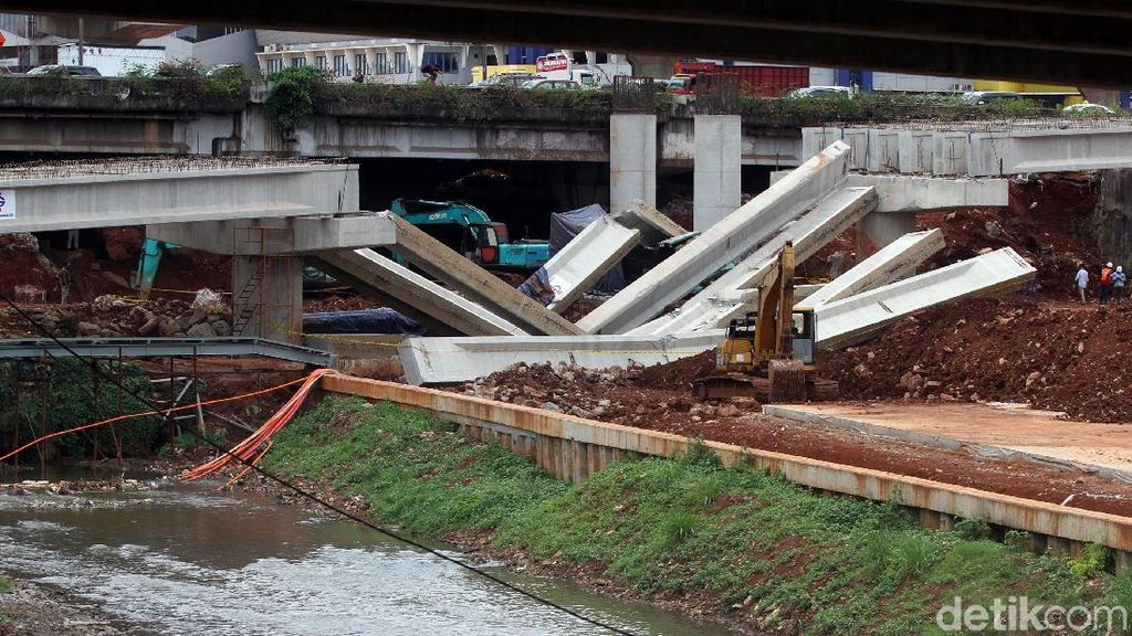Cara Pemerintah Cegah Proyek Infrastruktur Ambruk Lagi