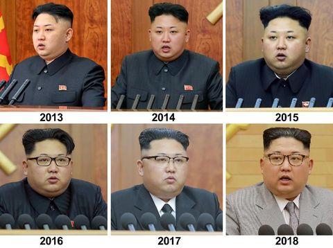 Gaya berpakaian Kim Jong-Un dari tahun ke tahun