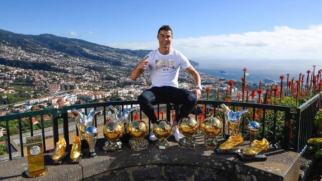 Ronaldo Sudah Kenyang Gelar Ballon dOr