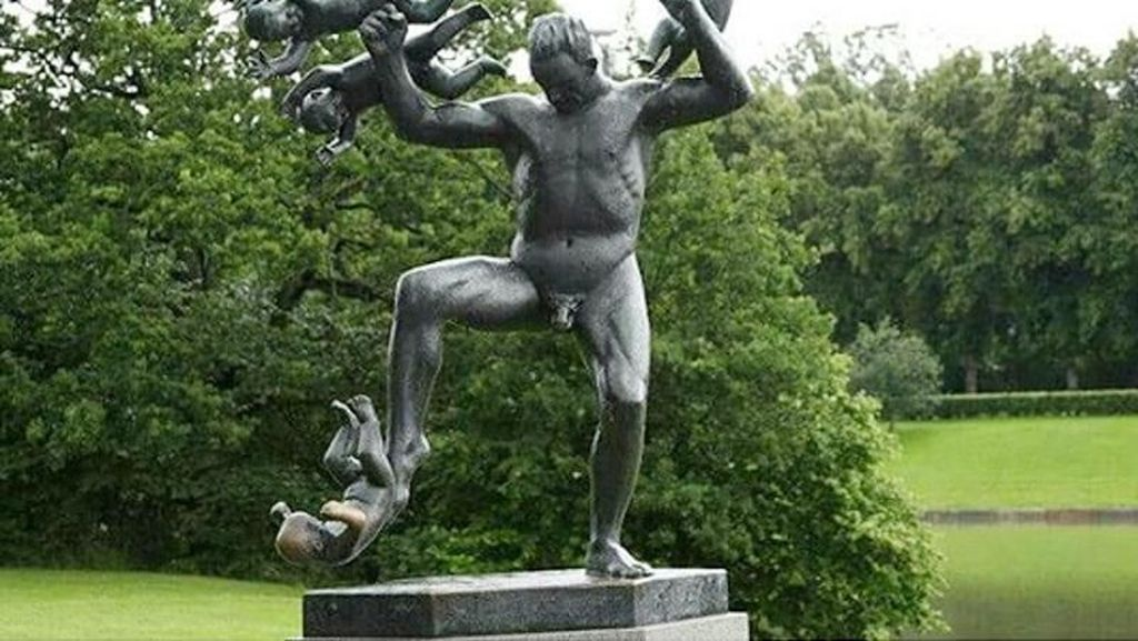 Foto: Takut Jangan Lihat, 6 Patung Menyeramkan di Dunia