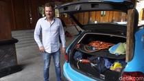 Naik Mobil Listrik dari Belanda ke Australia, Wiebe Mampir Solo