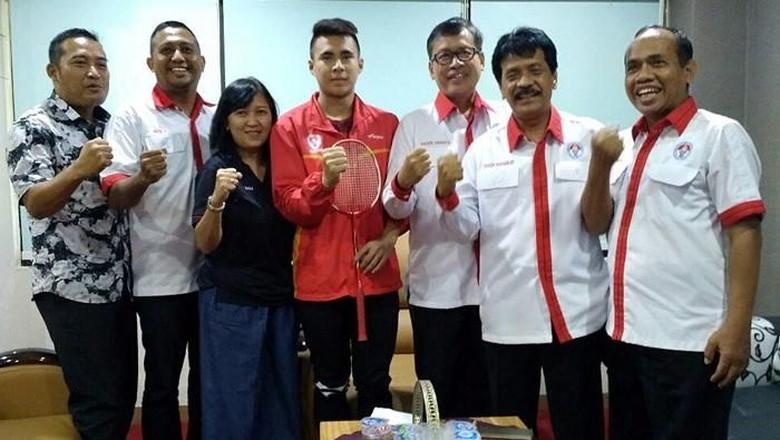 Siswa SKO Ragunan Ikhsan Rumbay Masuk Pelatnas PBSI