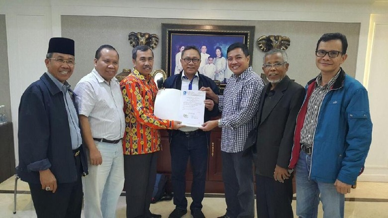 PAN Usung Syamsuar-Edy Nasution di Pilgub Riau