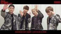 Tahun 2017 menjadi tahun yang berat untuk BIGBANG karena T.O.P yang tengah menjalani wajib militer tersandung narkoba dandikeluarkan dari satuan kepolisian. Meski begitu show must go on, G-Dragon dan Taeyang merilis album Kwon Ji Young dan White Night. Mereka juga sempat mengadakan konser solo dan sempat mampir ke Indonesia.Di penghujung tahun, BIGBANG menggelar konser terakhir mereka di Seoul yang bertajuk BIGBANG 2017 Concert Last Dance In Seoul sebelum mereka hiatus.