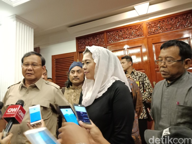 Meski Tak Jadi Usung Yenny Wahid di Jatim, Prabowo: Enjoy Saja