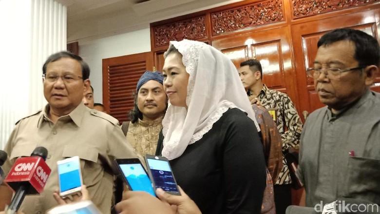 Prabowo: Yenny Wahid Tak Diizinkan Keluarga Maju Pilgub Jatim