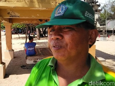Kata Petugas Kebersihan Pantai Kuta Soal Fenomena Sampah