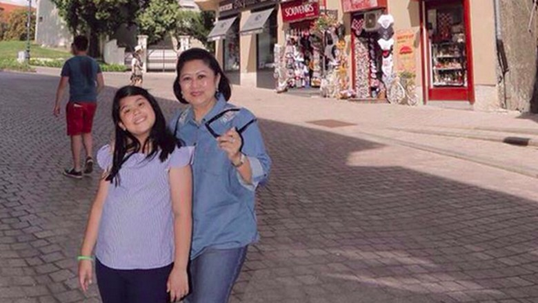 Pesan Manis Ani Yudhoyono di Ulang Tahun Cucunya, Almira/ Foto: Instagram