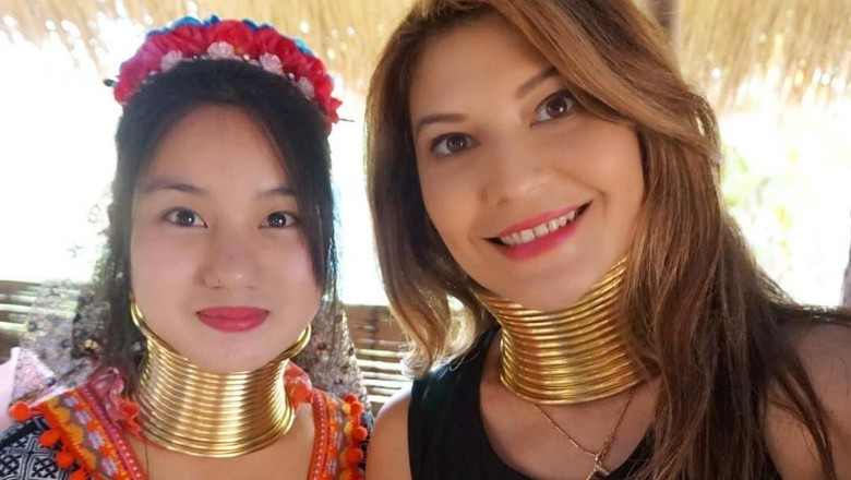 Foto: Tamara Bleszynski bersama wanita Suku Karen (tamarableszynskiofficial/Instagram)