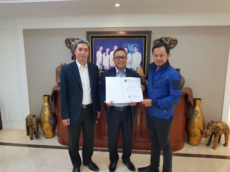 PAN Beri Dukungan Resmi ke Bima Arya-Dedie Rachim di Pilwakot Bogor
