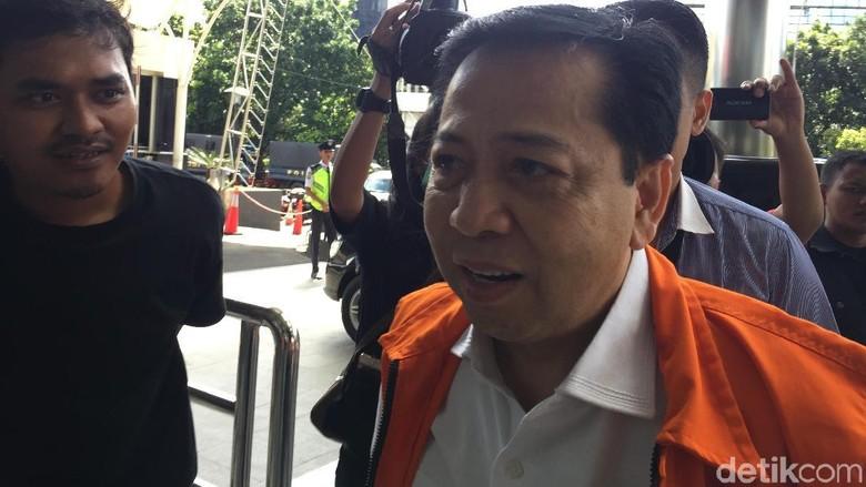 Pengacara: Novanto Yakin Ada Nama Besar di Kasus e-KTP