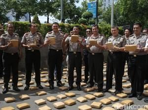 Foto: Ini Ganja 1,3 Ton Asal Aceh