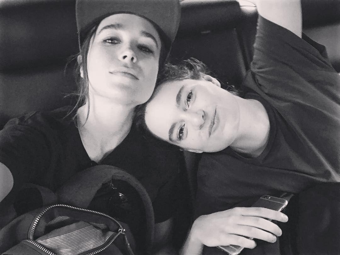 Ellen Page dan Emma Portner dari instagram.