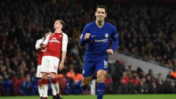 Eden Hazard menjadi pemain yang santer disebut akan hengkang dari Chelsea pada bursa transfer setelah Piala Dunia 2018.