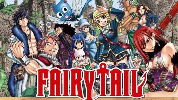 Manga 'Fairy Tail'