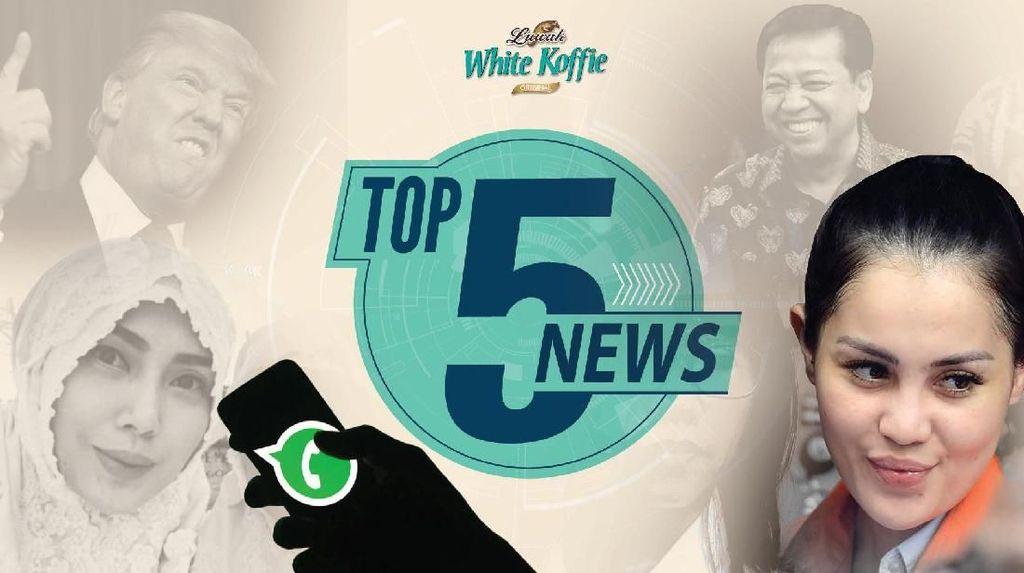 Cerita Penangkapan Jennifer Dunn, WhatsApp Kirim 75 Miliar Pesan