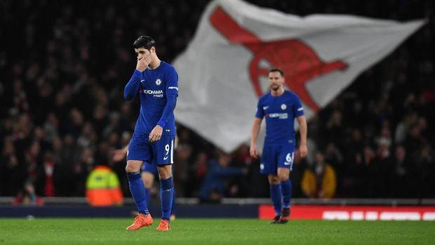 Alvaro Morata tampil melempem di Chelsea musim ini.