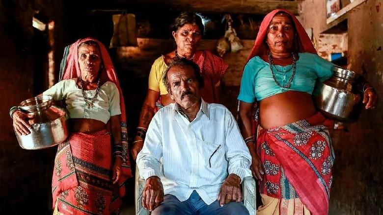 pernikahan unik demi air di India (Danish Siddiqui/Reuters)