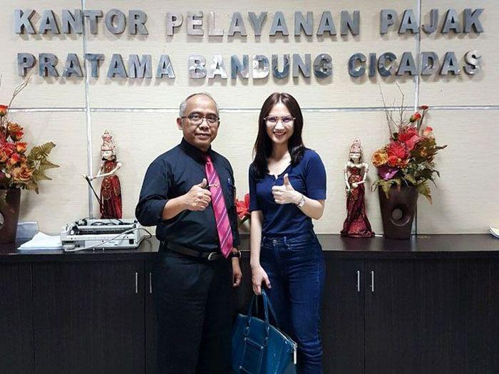 Melody datang sekitar pukul 10.00 WIB. (Dok KPP Bandung Cicadas).