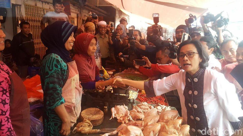 Sri Mulyani Bikin Heboh Pasar Besar Malang, Ada Apa?