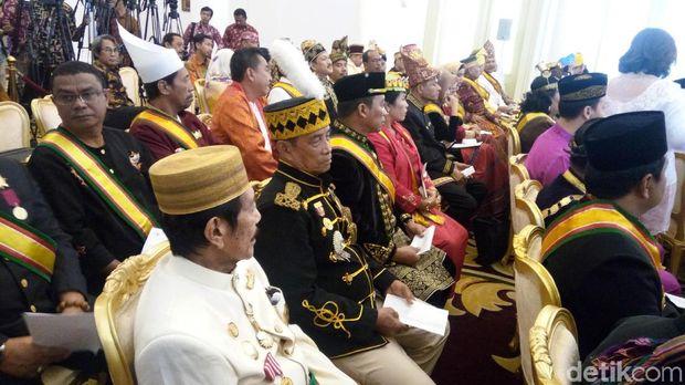 Para Raja dan Sultan berkumpul di Istana Bogor.