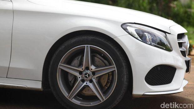 Pelek bintang Mercedes-Benz C200 AMG Line