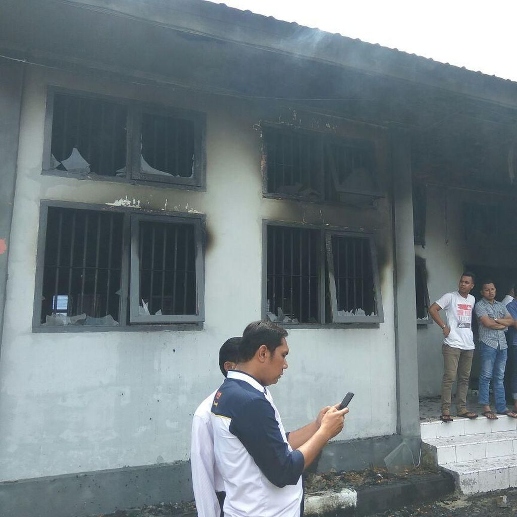 1 Napi LP Banda Aceh Kembali Ditangkap, 76 Orang Masih Diburu