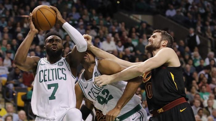 Boston Celtics mengalahkan Cleveland Cavaliers (David Butler II-USA TODAY Sports)