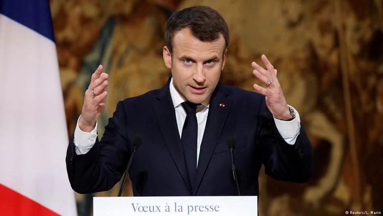 Prancis Akan Perangi Fake News dengan UU
