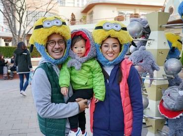 Satu keluarga jadi gemas kan kalau pakai topi seperti keluarga Ruben Onsu ini. Hi-hi. (Foto: Instagram/sarwendah29)