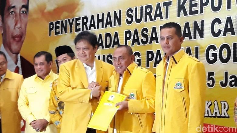 Ini Alasan Golkar Ubah Dukungan dari Tengku Erry ke Edy Rahmayadi