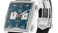TAG Heuer Monaco. Jam tangan ini mulai populer sejak terlihat di pergelangan tangan aktor kenamaan Steve Macqueen dalam sebuah film balapan berjudul Le Mans. Jam tangan Monaco memang selama ini memang sejak lama dikaitkan dengan masa kejayaan motorsport. Foto: Watchfinder