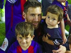 Keseruan Lionel Messi Saat Bersama Dua Jagoannya