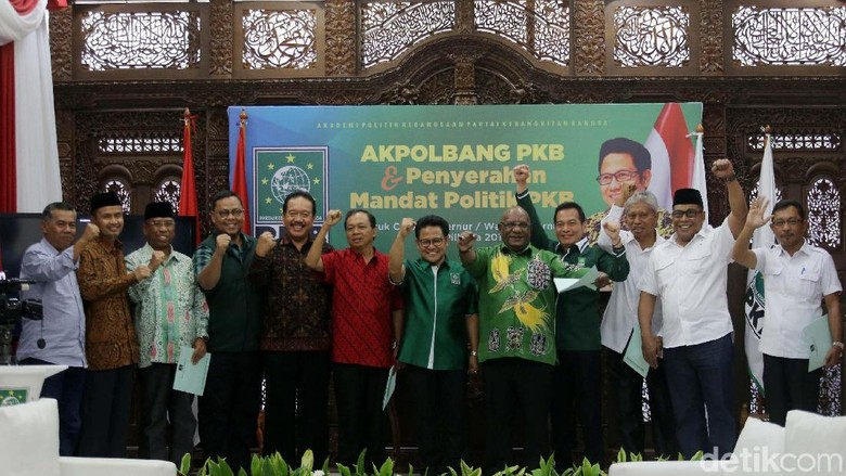Calon Gubernur PKB Siap Tarung di 10 Provinsi