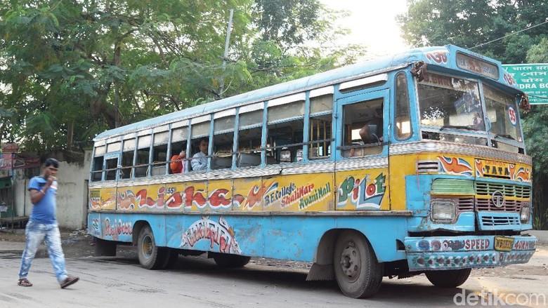 Bus Kota Kolkata (Masaul/detikTravel)