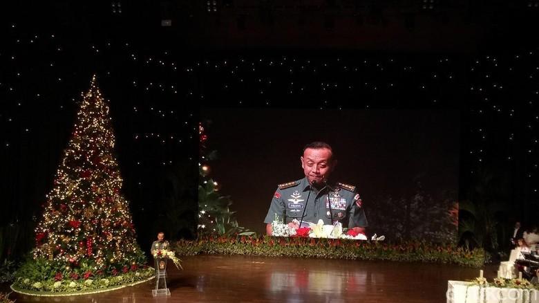 Hadiri Perayaan Natal, KSAD: Tingkatkan Profesionalitas TNI AD