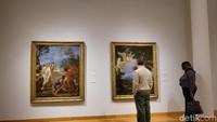 Ada 11 ribu koleksi museum yang dipamerkan pada publik, termasuk karya seni dari Afrika, Amerika, dan Eropa. Foto: Tia Agnes/ detikHOT