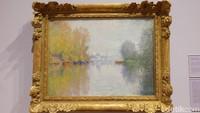 Salah satunya adalah lukisan-lukisan Claude Monet. Foto: Tia Agnes/ detikHOT