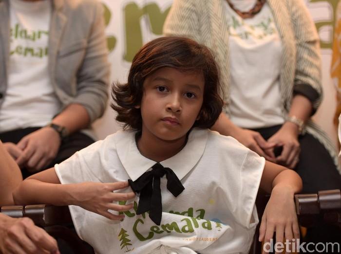 Widuri Putri Sasono, putri Widi Be3 dan Dwi Sasono saat ditemui di kawasan Kebayoran Baru.