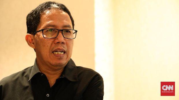 Joko Driyono akan menjabat sebagai pelaksana tugas Ketua Umum PSSI yang untuk sementara ditinggalkan Edy Rahmayadi.
