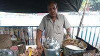 Penjual chai/teh susu India