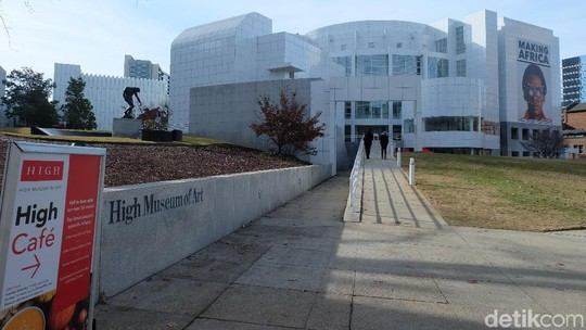 Jalan-jalan ke High Museum of Art Atlanta